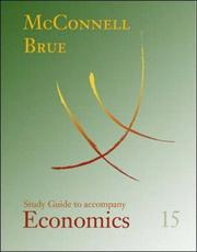 Cover of: Study Guide to accompany Economics | William B. Walstad