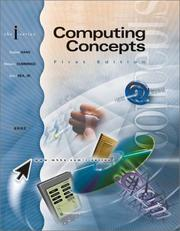 Cover of: Computing Concepts