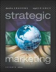 Cover of: Strategic Marketing | David W. Cravens