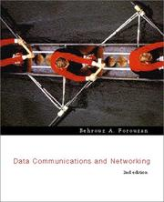 Cover of: Data Communications and Networking