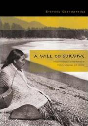 Cover of: A Will to Survive | Stephen Greymorning