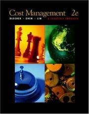 Cover of: Cost Management | Edward Blocher