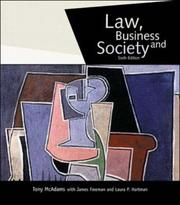 Cover of: Law, Business & Society with PowerWeb | Tony McAdams