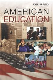 Cover of: American Education with PowerWeb | Joel Spring