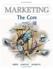 Cover of: Marketing | Roger A. Kerin, Steven W. Hartley, William Rudelius