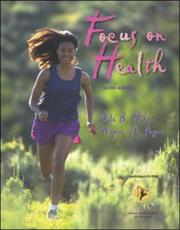 Cover of: Focus on Health with HealthQuest 4.1 CD-ROM, Learning To Go | Dale B. Hahn