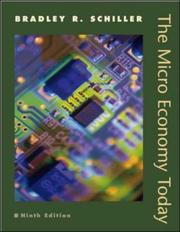 Cover of: The Micro Economy Today+ DiscoverEcon Code Card+ Student Problem Sets | Bradley R. Schiller
