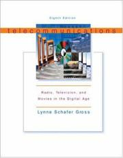 Cover of: Telecommunications | Lynne Schafer S Gross