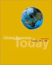 Cover of: Global Business Today, Postscript 2003 with CD, Map, and PowerWeb