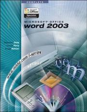 Cover of: Microsoft Office Word 2003, complete