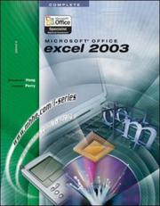 Cover of: The I-Series Microsoft Office Excel 2003 Complete (The I-Series)