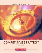 Cover of: Formulation, Implementation and Control of Competitive Strategy with PowerWeb and Business Week card