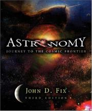 Cover of: Astronomy | John D. Fix
