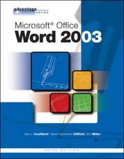 Cover of: Microsoft Word 2003