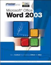 Cover of: Microsoft Office Word 2003