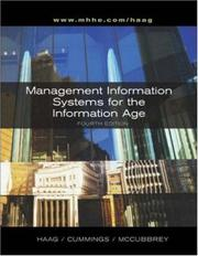 Cover of: Mgmt & Info Systems for the Info Age w/ Powerweb & Ext. Learning Modules Cd