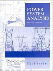 Cover of: Power Systems Analysis | Hadi Saadat