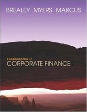 Cover of: Fundamentals of Corporate Finance + Student CD-ROM + Powerweb + Standard&Poor's Educational Version of Market Insight