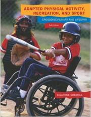Cover of: Adapted Physical Activity, Recreation and Sport with Powerweb Bind-in Passcard