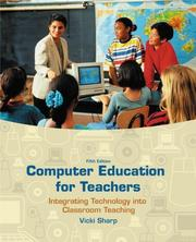Computer education for teachers by Vicki F. Sharp