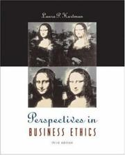 Cover of: Perspectives in Business Ethics | Laura P. Hartman
