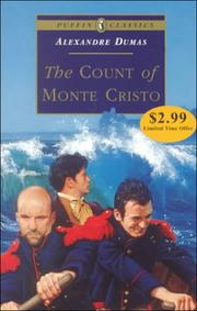 Cover of: The Count of Monte Cristo | Alexandre Dumas