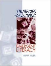 Cover of: Strategies for Developing Emergent Literacy