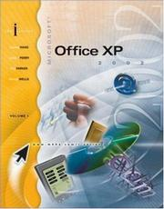 Cover of: I-SERIES MICROSOFT OFFICE XP VOL I ENHANCED W/ STUDENT CD (I-Series)