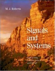 Cover of: Signals and Systems | M.J. Roberts