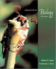 Cover of: Concepts In Biology | Eldon Enger