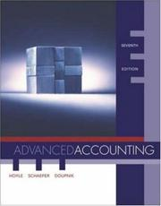 Cover of: MP Advanced Accounting with Dynamic Accounting PowerWeb and CPA Success SG Coupon | Joe Ben Hoyle