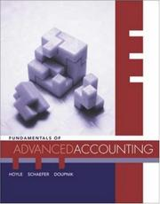 Cover of: MP Fundamentals of Advanced Accounting with Dynamic Accounting PowerWeb and CPA Success SG Coupon