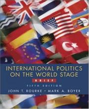 Cover of: International Politics on the World Stage, Brief, MP w/PowerWeb