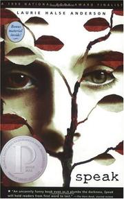 Cover of: Speak | Laurie Halse Anderson