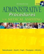 Administrative Procedures for Medical Assisting by Barbara Ramutkowski, Kathryn A. Booth, Donna Jeanne Pugh, Sharion Thomson, Leesa Whicker