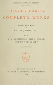 Shakespeare's Complete Works: Vol. V