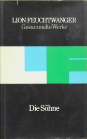 Cover of: Die Söhne by Lion Feuchtwanger