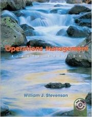 Cover of: Operations Management with Student DVD and Power Web