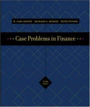 Cover of: Case Problems in Finance + Excel templates CD-ROM (Irwin Series in Finance, Insurance, and Real Estate,) | Carl Kester