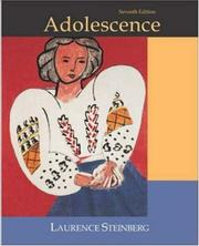 Cover of: Adolescence with PowerWeb | Laurence Steinberg