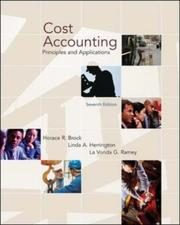 Cost Accounting by Horace R. Brock, Linda Herrington, La Vonda G. Ramey