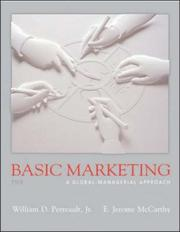 Cover of: Basic Marketing w/ Student CD, PowerWeb, & Apps Manual [2004-05] (Student Package #1) | William D. Perreault Jr.