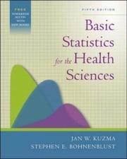 Cover of: Basic Statistics for the Health Sciences with PowerWeb Bind-in Card | Jan W. Kuzma