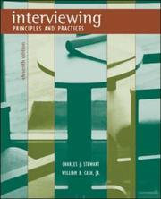 Cover of: Interviewing