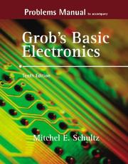 Cover of: Problems Manual to accompany Grob