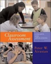 Cover of: Classroom Assessment with PowerWeb Bind-In Card