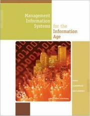 Cover of: Management Information Systems for the Information Age