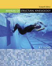 Cover of: Manual of Structural Kinesiology | R .T. Floyd