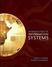 Introduction to information systems by James A. O'Brien