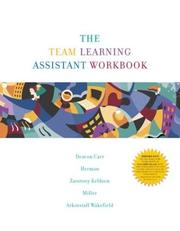 Cover of: The Team Learning Assistant Workbook with Access Code Sticker (ENGCS) | Sandra Deacon Carr